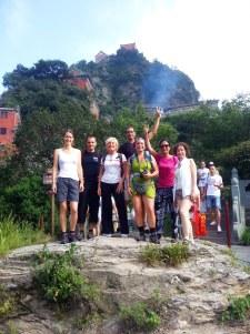 Photo de groupe lors du voyage en Chine organisé par Terre d'Asie