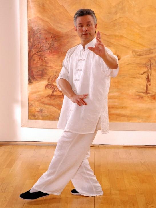 Marche du Bagua Zhang par Maître Zhang Kunlin