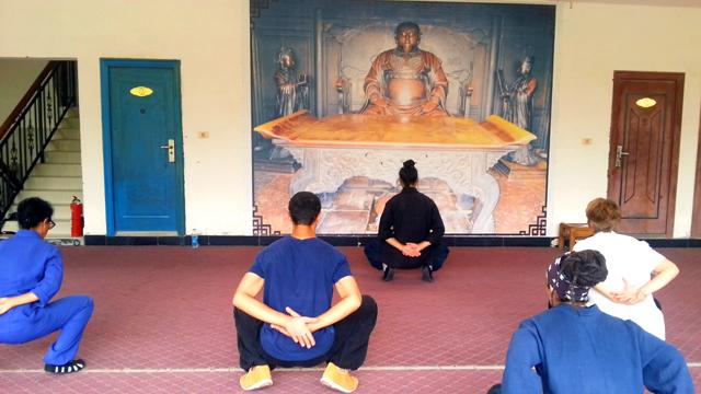 Dan Dao avec Wei Zi, disciple de Maître Yuan Li Min au Wudang