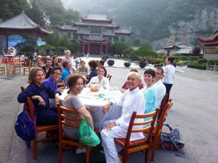 Notre hébergement au Wudang, Chine