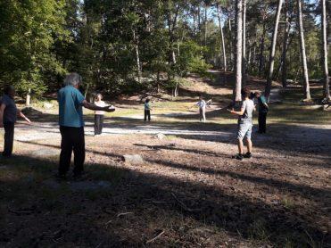 Les stages en forêt de Fontainebleau -2
