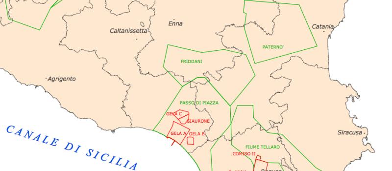 Permessi di ricerca idrocarburi in Sicilia