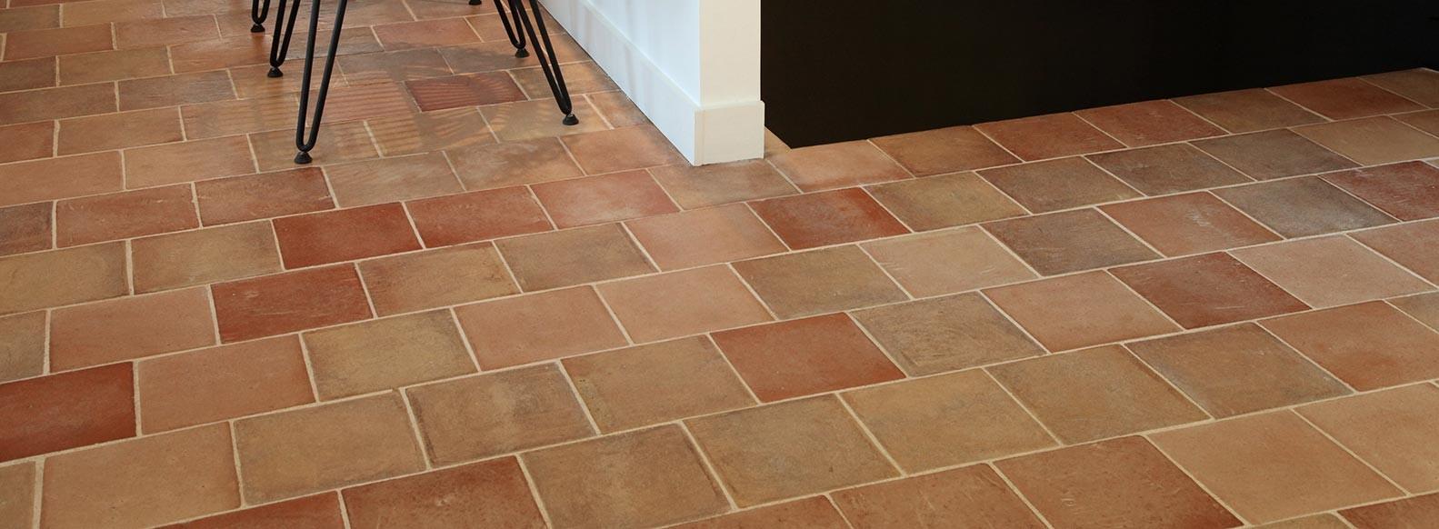 terracotta floor tile for your interior