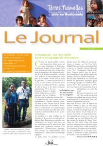 Journal Terres Nouvelles 2017-2