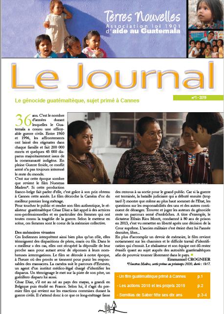 Journal Terres Nouvelles 2019_1