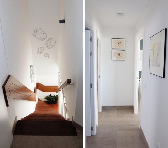 diseño de estilo mediterráneo. pasillo