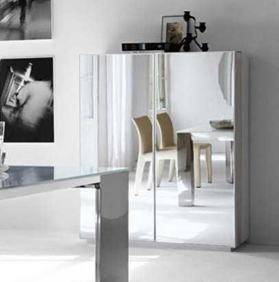 como decorar un espacio pequeño. mueble-espejo