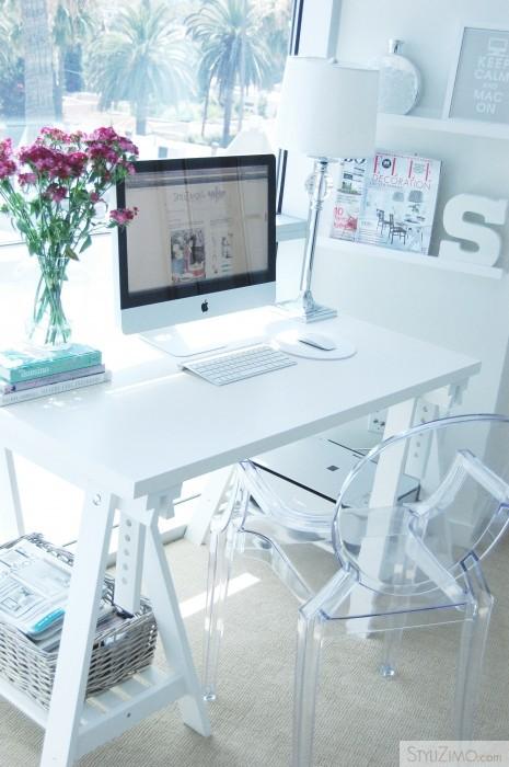 como decorar espacios pequeños. despacho