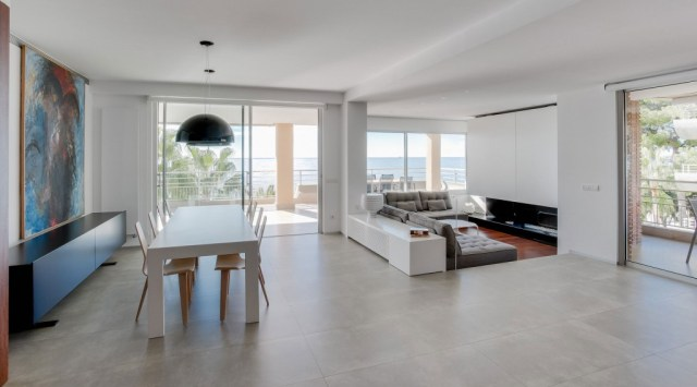 proyecto de interiorismo de vivienda. sanahuja salon comedor