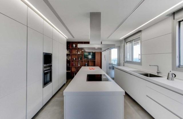 proyecto de interiorismo de vivienda. sanahuja cocina