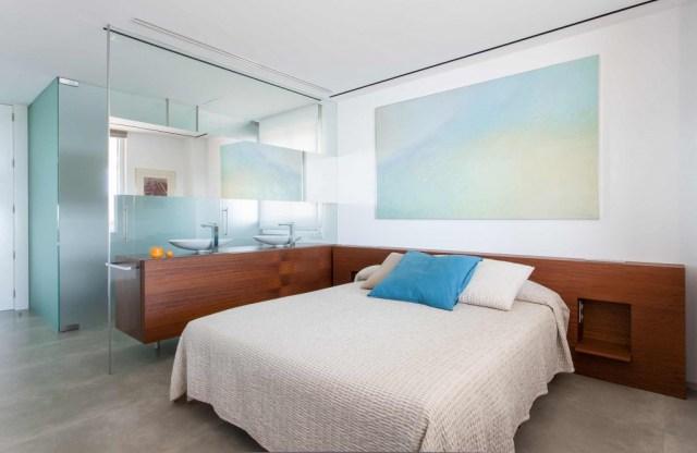 proyecto de interiorismo de vivienda. sanahuja dormitorio