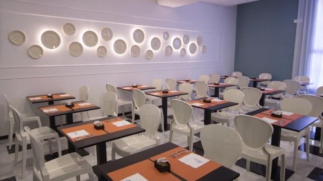 diseño de interiores hotel Monte Triana. comedor