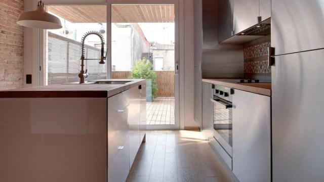 decoración de cocinas pequeñas con luz natural