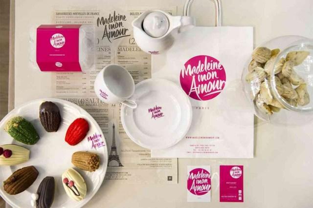 imagen corporativa coordinada con mobiliario para cafetería