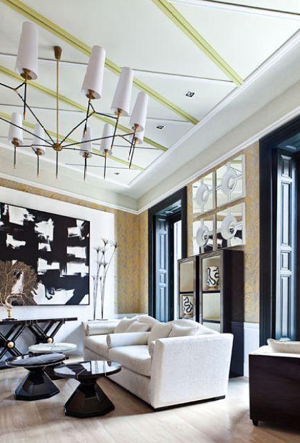 Decoradores de interiores. Salón de Jean Porsche