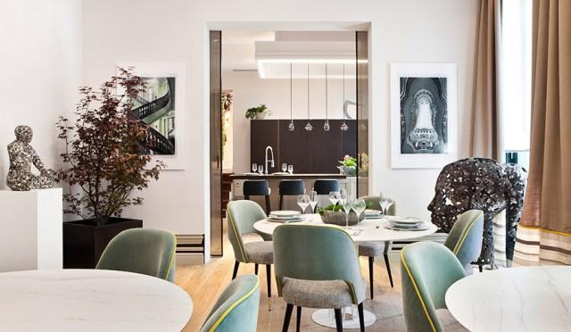 comedor de Inma Recio y Silvia Trigueros. espacios de decoradores de interiores