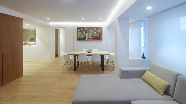 diseño de interiores de vivienda en Galicia