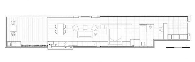 plano de loft de diseño