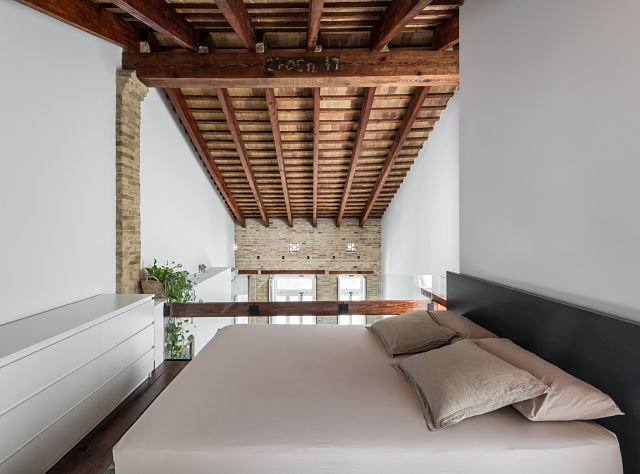 rehabilitación de dormitorio de una casa