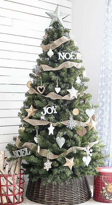Decoración del árbol de Navidad según territoriodeco