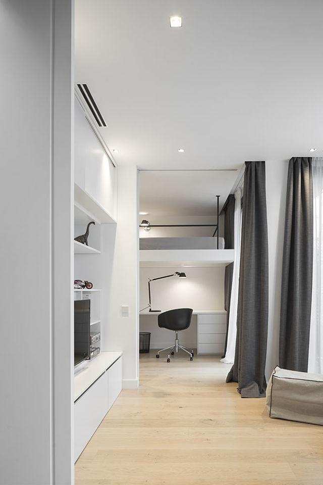 Idea interior de decoración de dormitorios