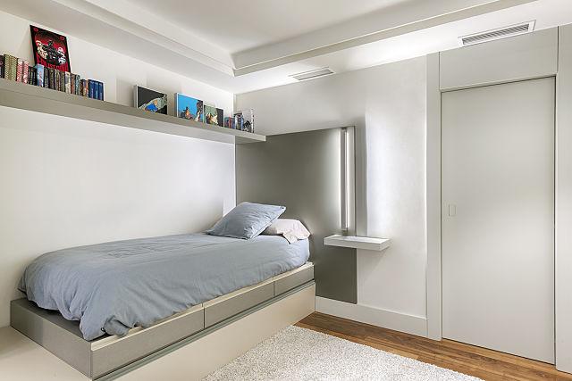 dormitorios juveniles en reforma de vivienda en Valencia
