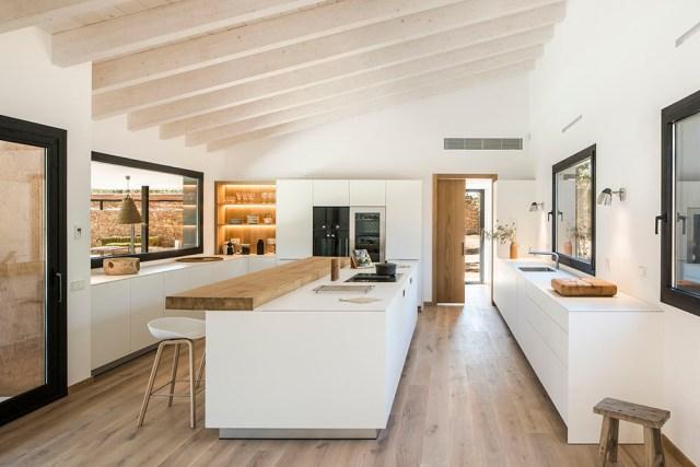 Arquitectura y diseño interior de cocina