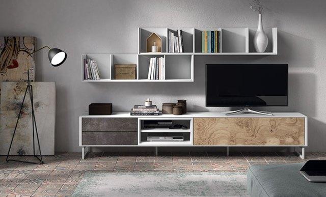 Mueble de salón de la colección Transfer plus de Kibuc