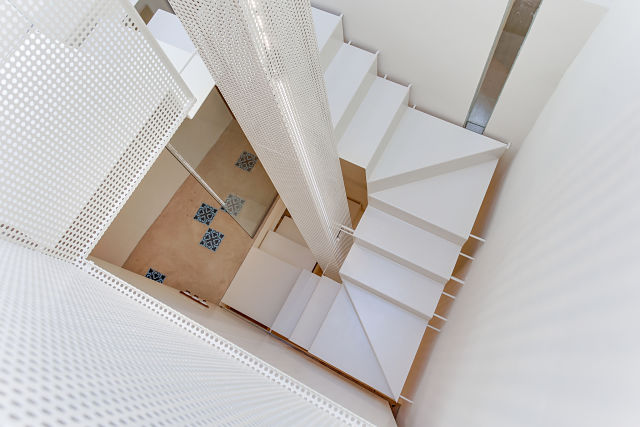 Reforma interior de escalera de casa