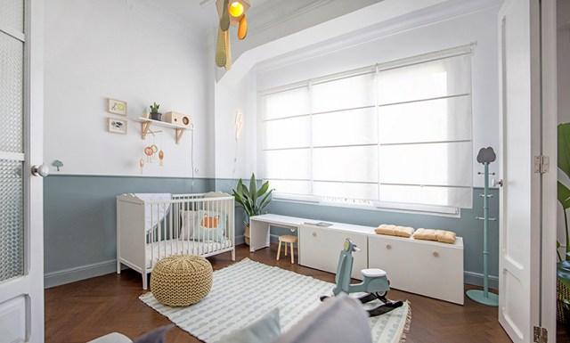 Dormitorio infantil de estilo nórdico