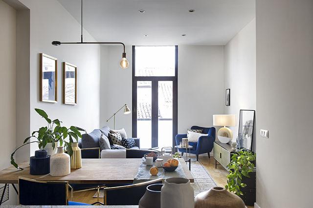 Decoración de apartamento estilo organic lux