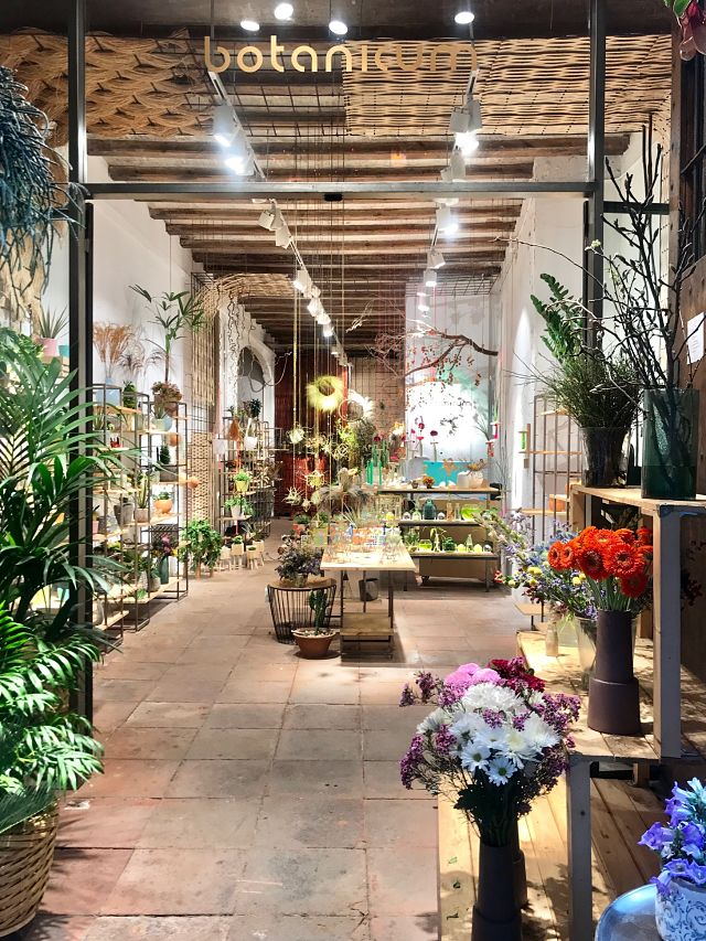 Botanicum, el atelier floral en el Born de Barcelona