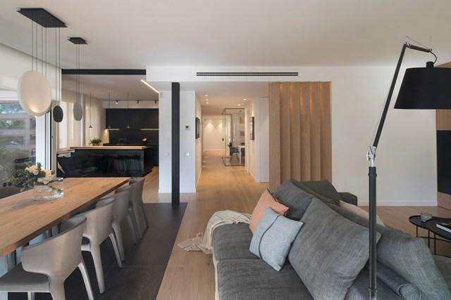 Interiores de casas sorprendentes; dual skin