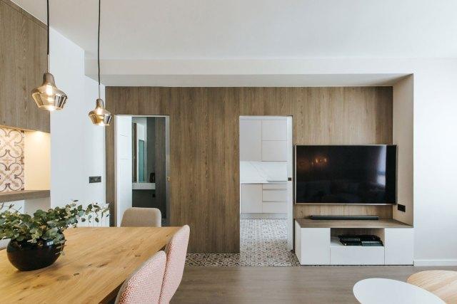 Diseño de Salón en proyecto de interiorismo moderno