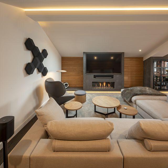 Cómo decorar una casa contemporánea abuhardillada