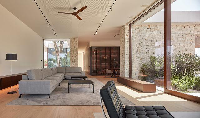 Diseño de salón de casa Madrigal