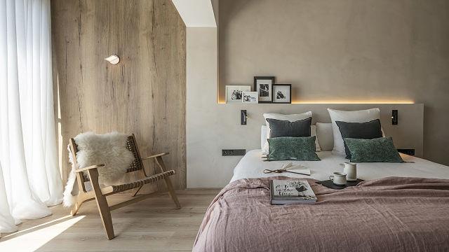 Detalle de dormitorio slow deco de Susanna cots