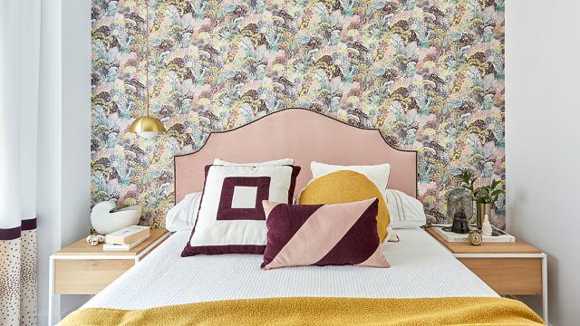 Dormitorio apartamento femenino Deleite Design