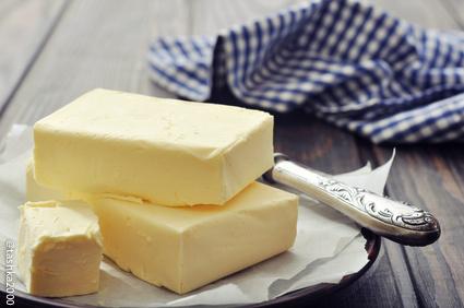 Beurre cru baratté, extrafin, salé