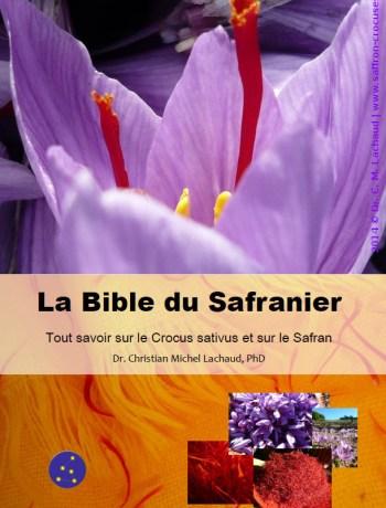 La bible du safranier livre safran