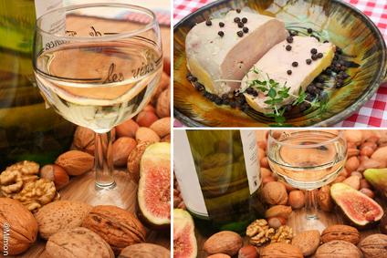 Foie Gras de Canard entier - Vin Blanc