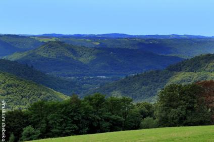 Vallée de la Maronne.