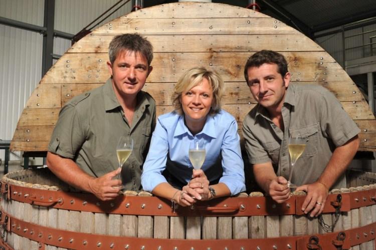 Domaine Colin champagne Delphine, Richard et Romain Colin @jolyot -
