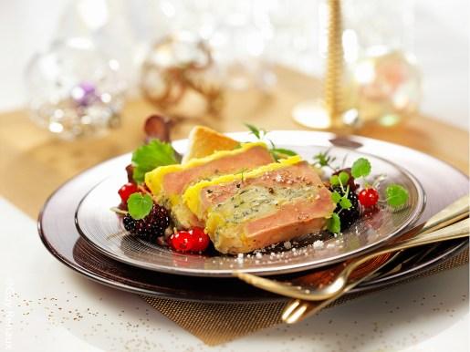 Foie gras à la Fourme de Montbrison @ Guy Renaux - Terroir Evasion