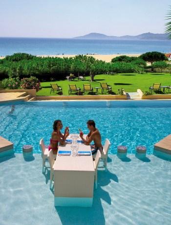 L'Effet Mer - Table piscine Terroir Evasion