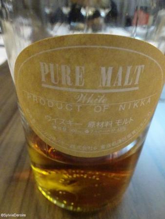 NIKKA white whisky Japon