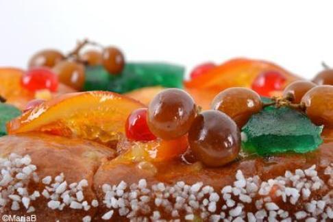 Brioche des Rois Provençale aux fruits confits