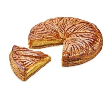 Galette frangipane Caramel beurre salé coupe Saibron TerroirEvasion.com
