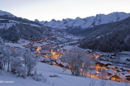 Le Grand Bornand - vue village® G.Lansard TerroirEvasion.com