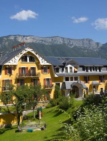 Les Trésoms Lake and SPA Resort Annecy - Vue aérienne